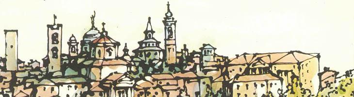 Cinquanta giornalisti raccontano Bergamo Alta